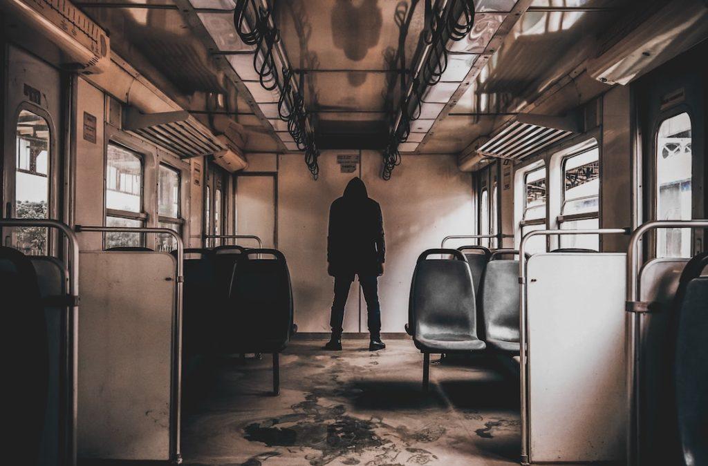 person-on-train
