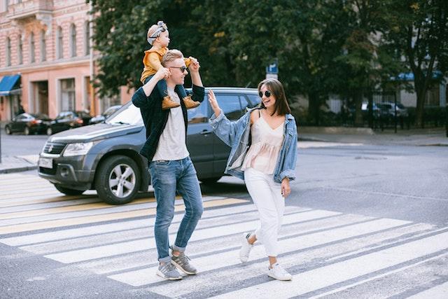 family-walking-on-street